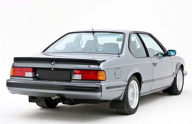 Фото BMW M635CSi E24 - выпускался только для Европы