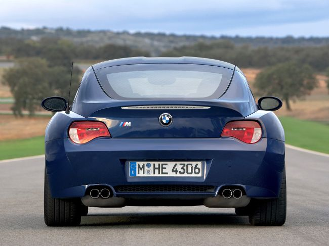 Фото BMW Z4M Coupe E86