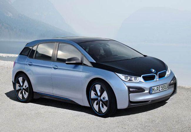 Фото BMW i5 обработаного с помощью фотошопа