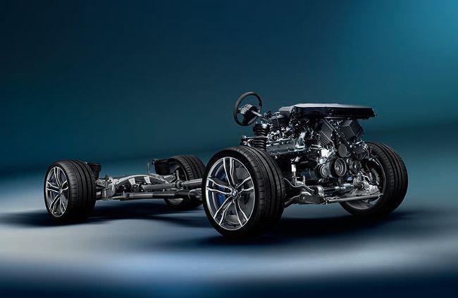 Шасси BMW X6M F86