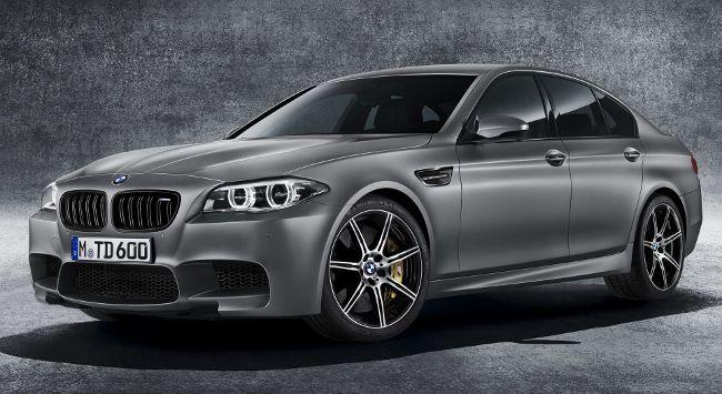 Юбилейная BMW M5 30 Jahre в кузове F10