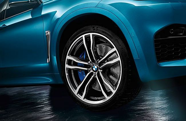 21-дюймовые М легкосплавные диски на BMW X6M F86