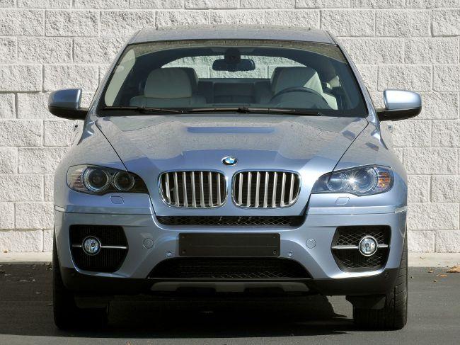 BMW Active Hybrid E72 - гибридная версия X6