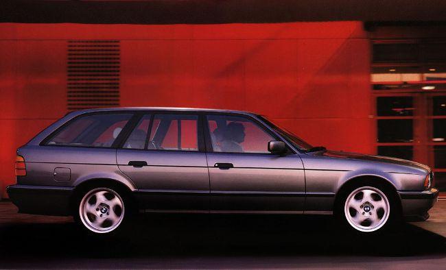 BMW E34 5S - первый Touring в модельном ряде М5