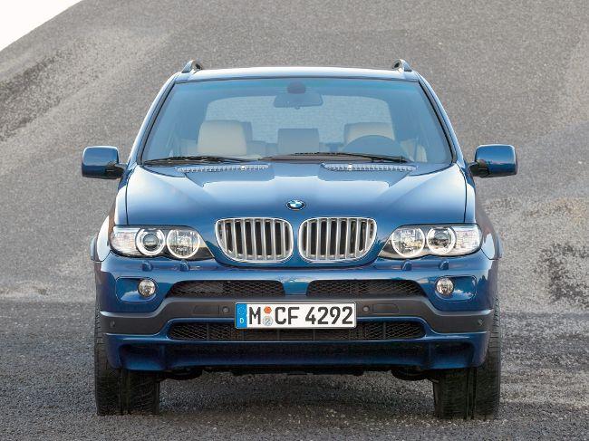 BMW E53 - обновленная версия X5