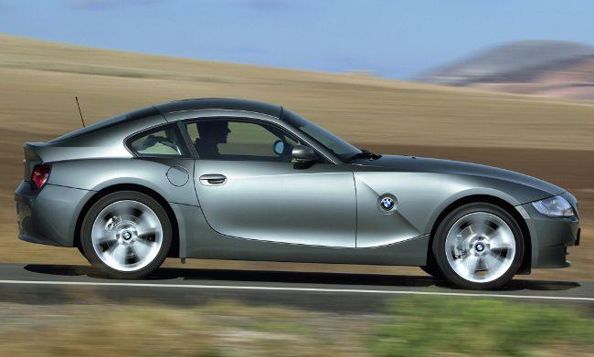 BMW E86 - первый и единственный полноценный купе Z4