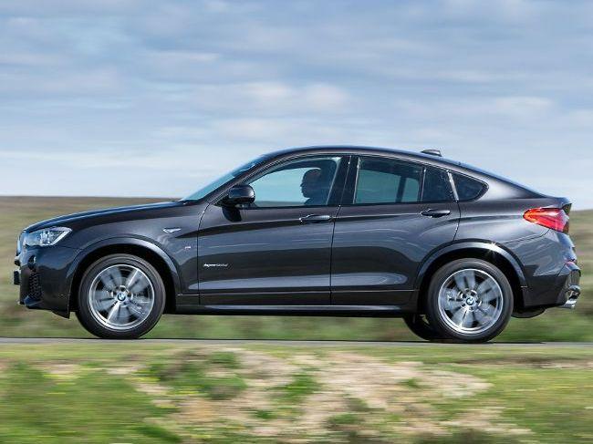 BMW F26 - спортивный кроссовер семейства X4