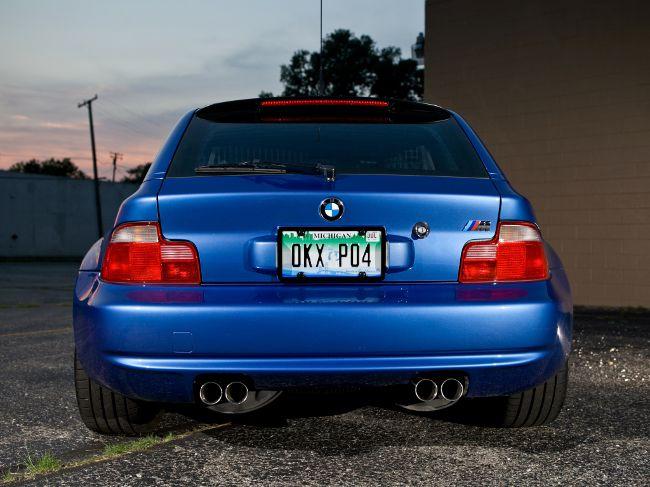 BMW M Z3 Coupe E36-8S - менее популерный вариант в отличии от родстера
