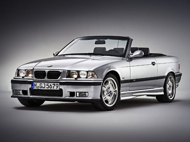 BMW M3 E36 в кузове кабриолет