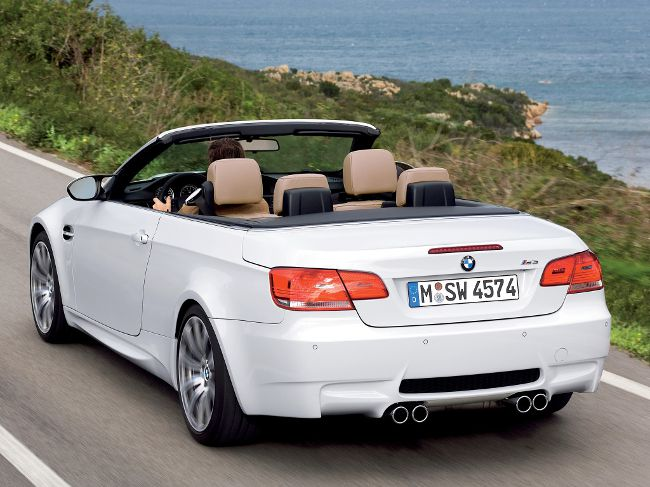 BMW M3 E93 в кузове кабриолет