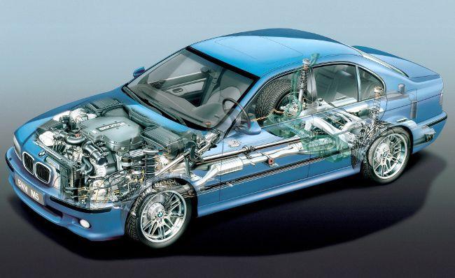 BMW M5 E39 S в разрезе