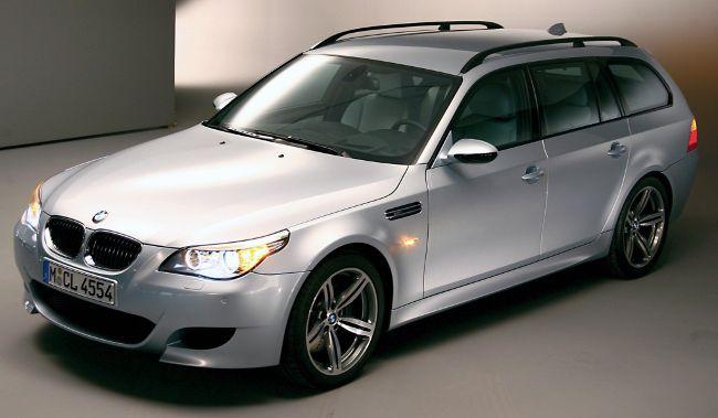 BMW M5 Touring E61S - второе поколение универсалов