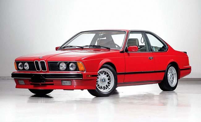 BMW M6 E24 - выпускался только для США
