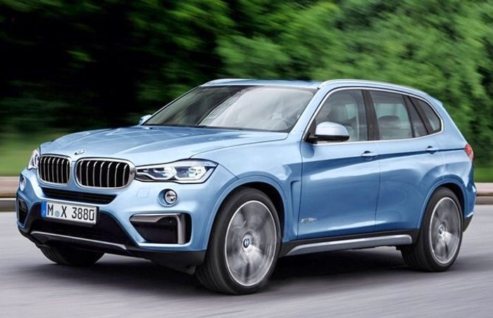 BMW X3 G01 2017 - предварительное фото