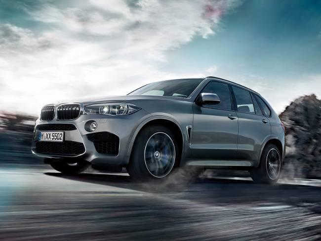 BMW X5 M F85-фото-параметры