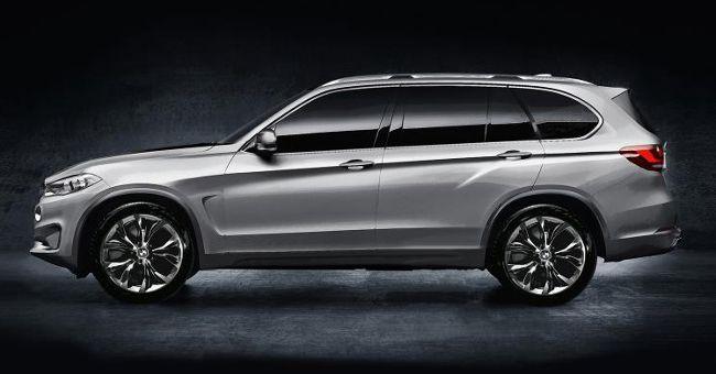 BMW X7 - ожидается в 2018 году