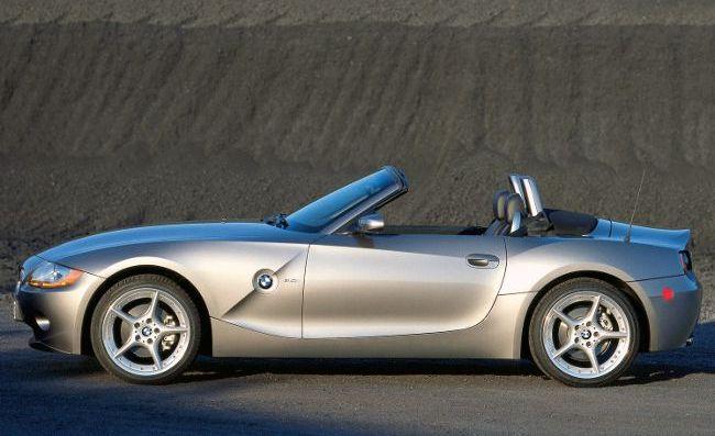 BMW Z4 E85 с открытым верхом