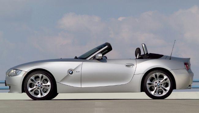 BMW Z4 Roadster E85 - после обновления