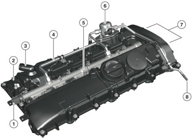 Крышка головки цилиндров B58