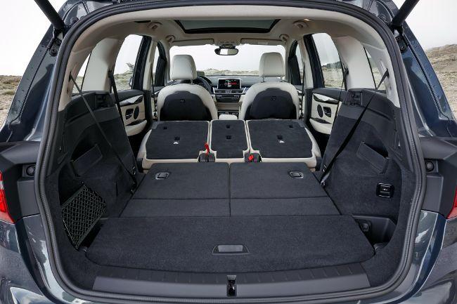 Максимальная эмкость багажного отделения BMW F46 Gran Tourer