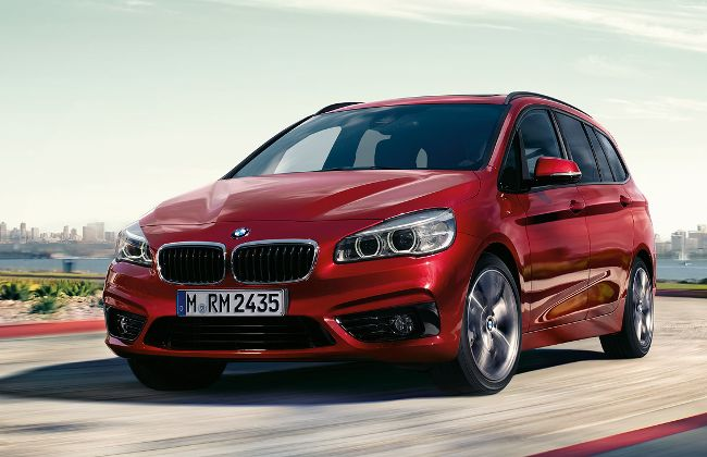 BMW 218i Gran Tourer F46 2 Series