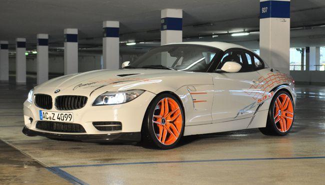 Внешность BMW ACZ4 5.0d