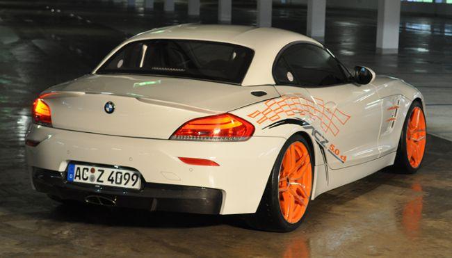 Дизайн BMW ACZ4 5.0d