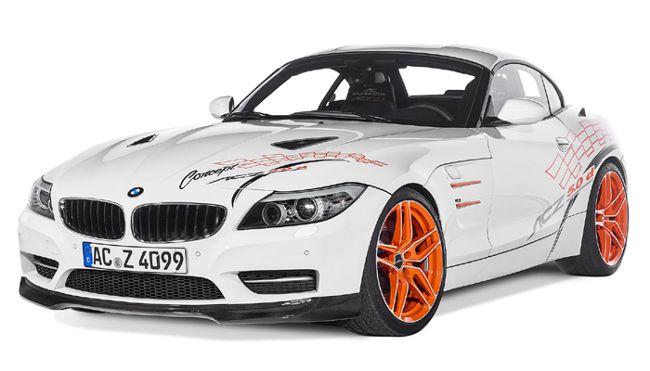 Передняя часть BMW ACZ4 5.0d