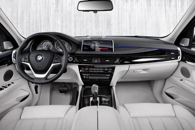 Салон BMW X5 xDrive40e F15