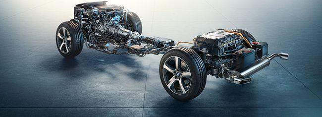 Шасси BMW X5 xDrive40e F15