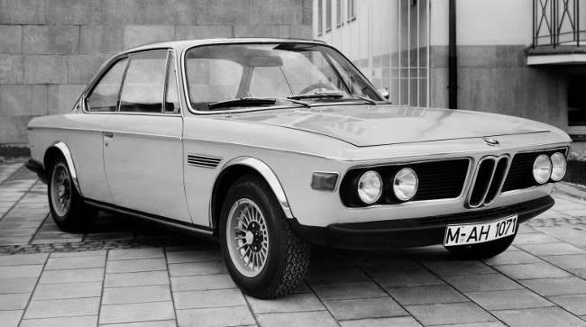 BMW 3.0 CSL E9 - 180-сильная версия купе
