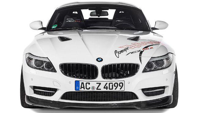 BMW AC Z4 50d - вид спереди