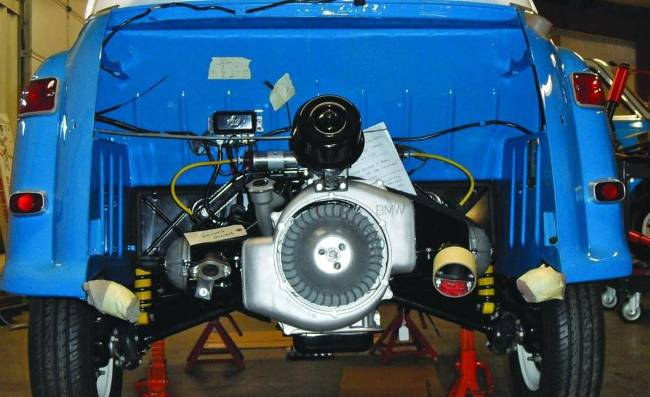 Двигатель М102 в БМВ 600