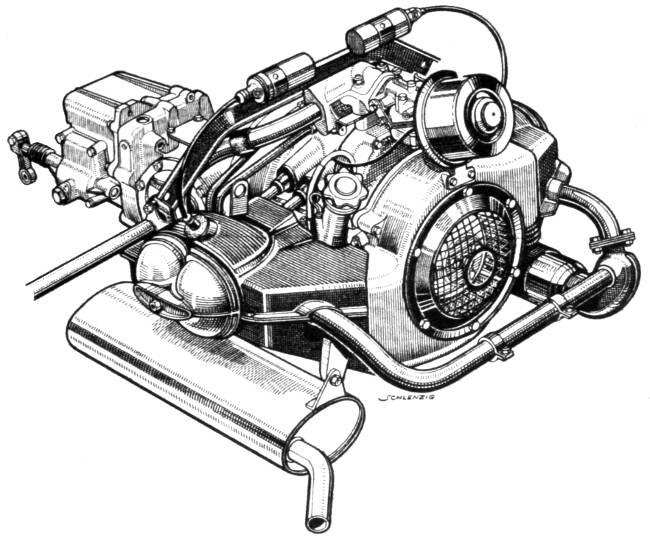 Двигатель BMW 600 - M102
