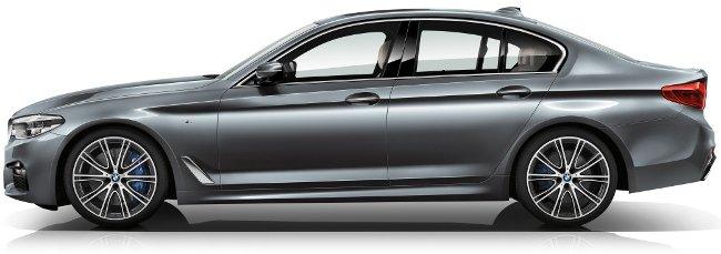 Дизайн-BMW-G30-5-Series-вид-сбоку