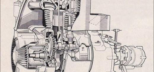 Мотор BMW M240 для Isetta 250