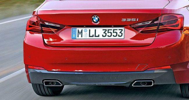 Задняя часть BMW G20 3 Series - предварительное фото