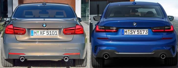 BMW F30 vs BMW G20 - szadi
