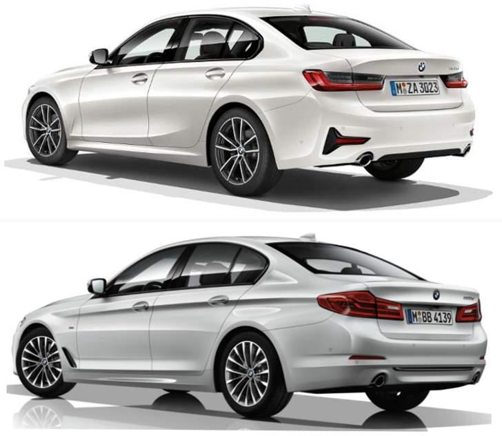 BMW G20 vs BMW G30 - Sport Line