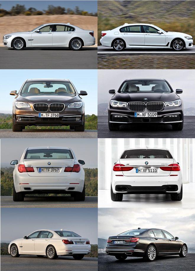 Внешнее сравнение BMW F0x и G1x