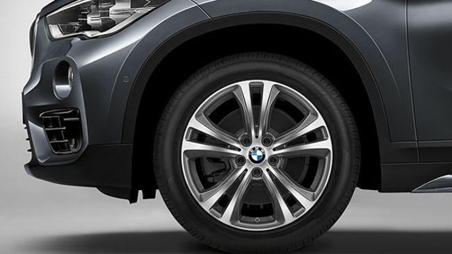 Диск на BMW X1 F48 с пакетом Sport Line