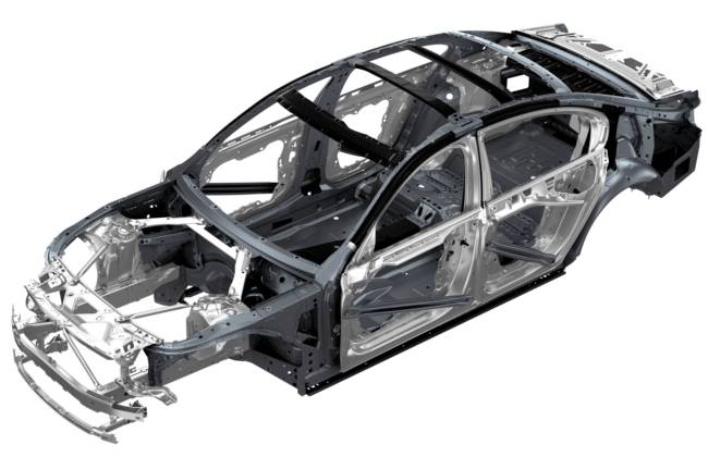 Конструкция кузова BMW G11 7 Series