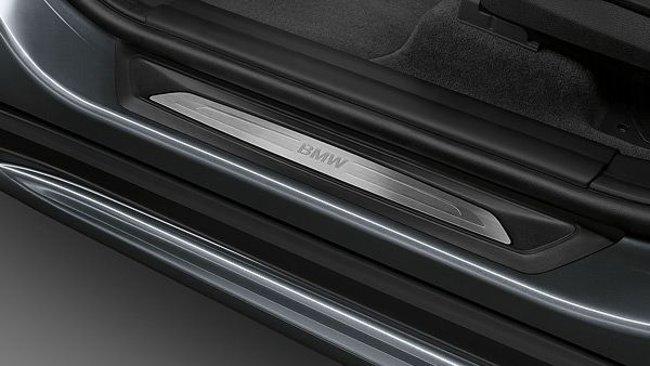 Накладка на пороге BMW X1 F48 с пакетом Sport Line