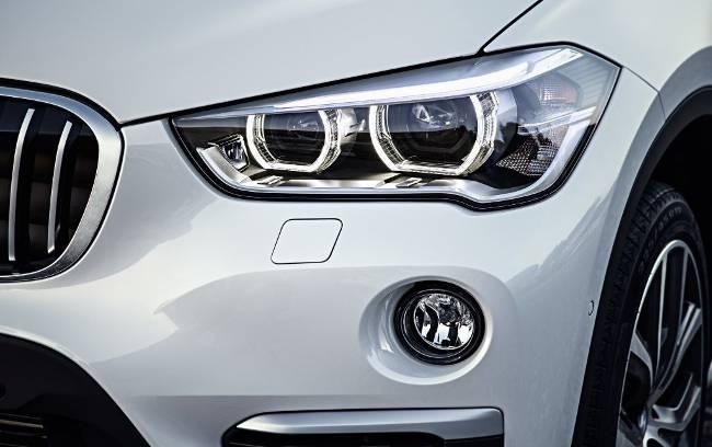 Передняя часть BMW X1 F48