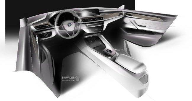 Рисунок BMW X1 F48