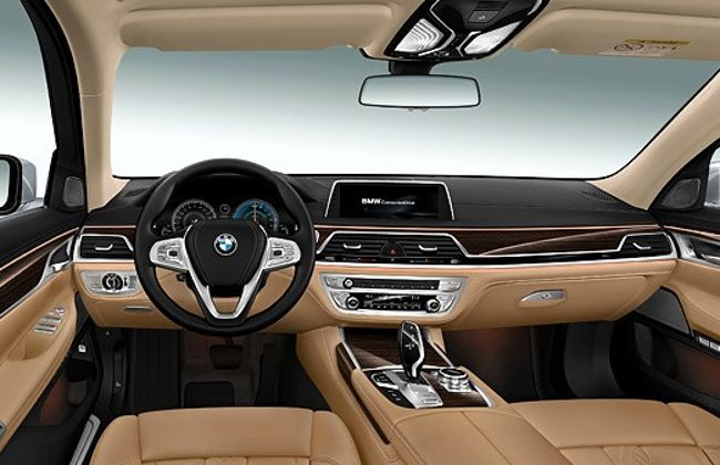 Салон BMW 740Le eDrive G12