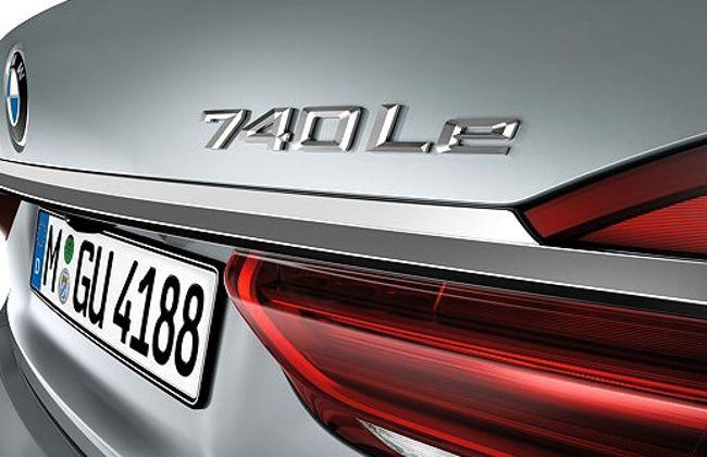 Шильдик 740Le на BMW G12
