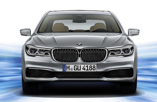 BMW 740Le eDrive G12 - вид спереди