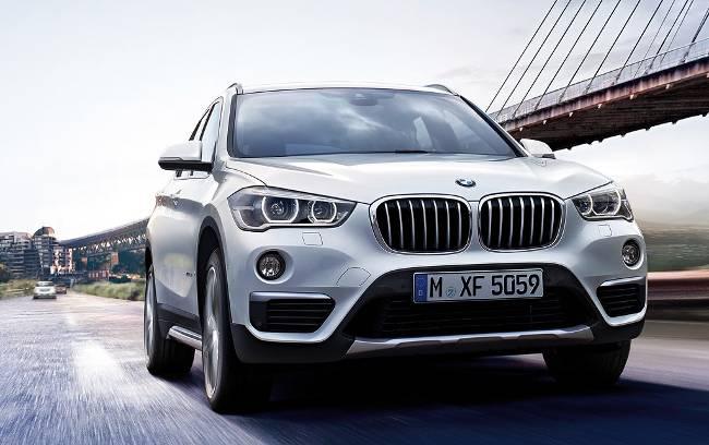 BMW X1 F48 - вид спереди