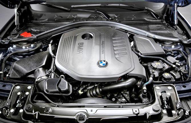 Двигатель BMW 340i F30 3 Series